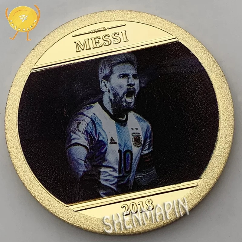 Đồng xu kỉ niệm Lionel Messi Argentina coin