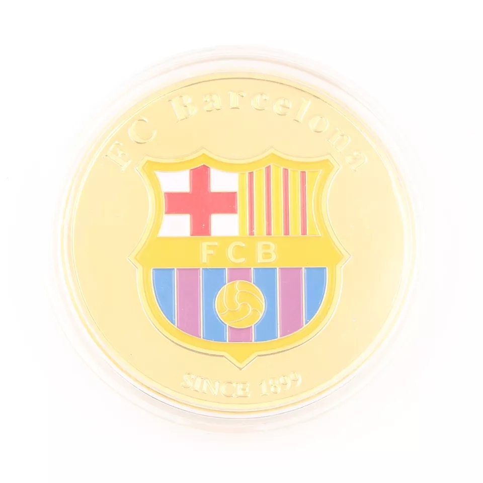 Đồng xu kỉ niệm Lionel Messi Barcelona coin