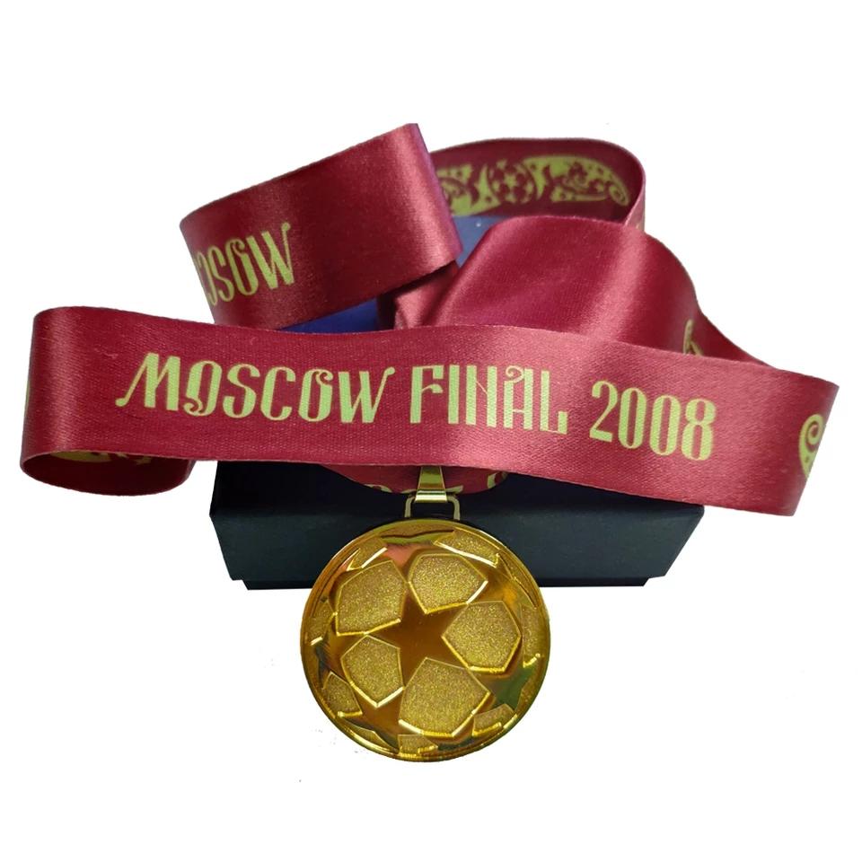 Huy chương vô địch Champion League 2007-2008 Manchester United medal