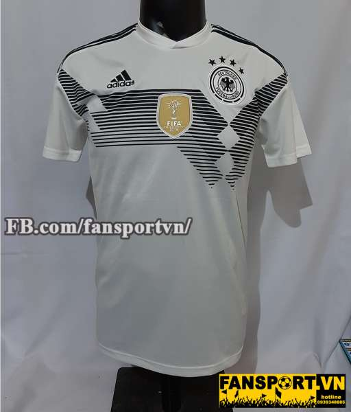 Áo đấu Germany 2018-2019 home shirt jersey white