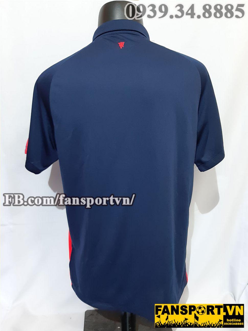 Áo đấu Manchester United 2014-2015 third shirt jersey blue