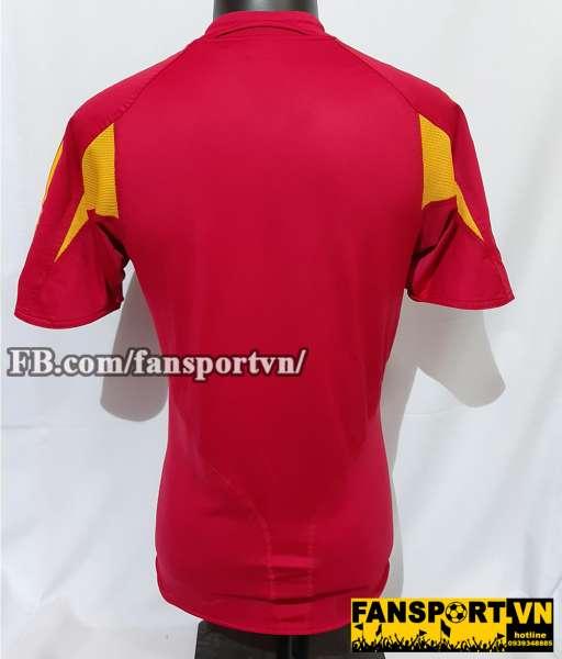 Áo đấu Spain 2003-2004-2005 home shirt jersey red