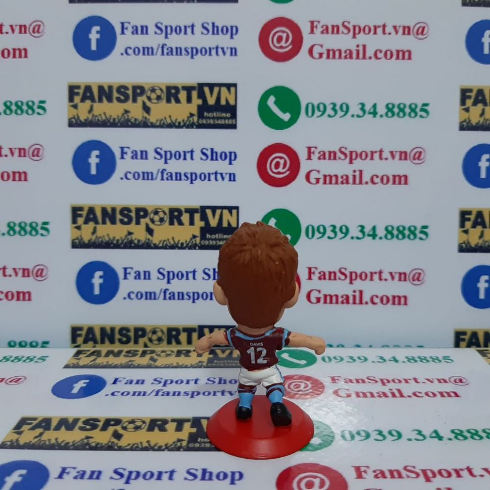 Tượng Davis Aston Villa 2006-2007 home microstars MC7816