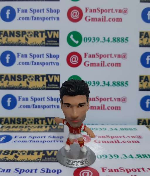 Tượng Jose Antonio Reyes Arsenal 2004-2005 home microstars MC2918