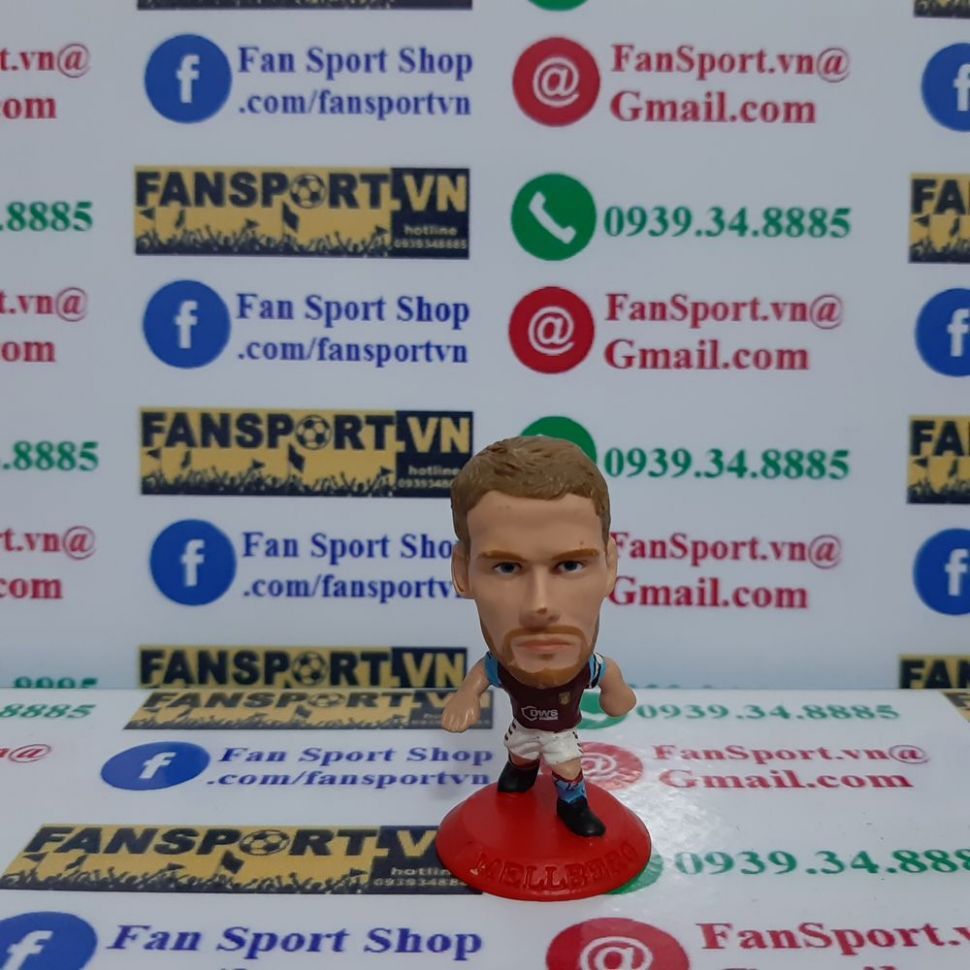 Tượng Olof Mellberg Aston Villa 2004-2005 home microstars MC2834