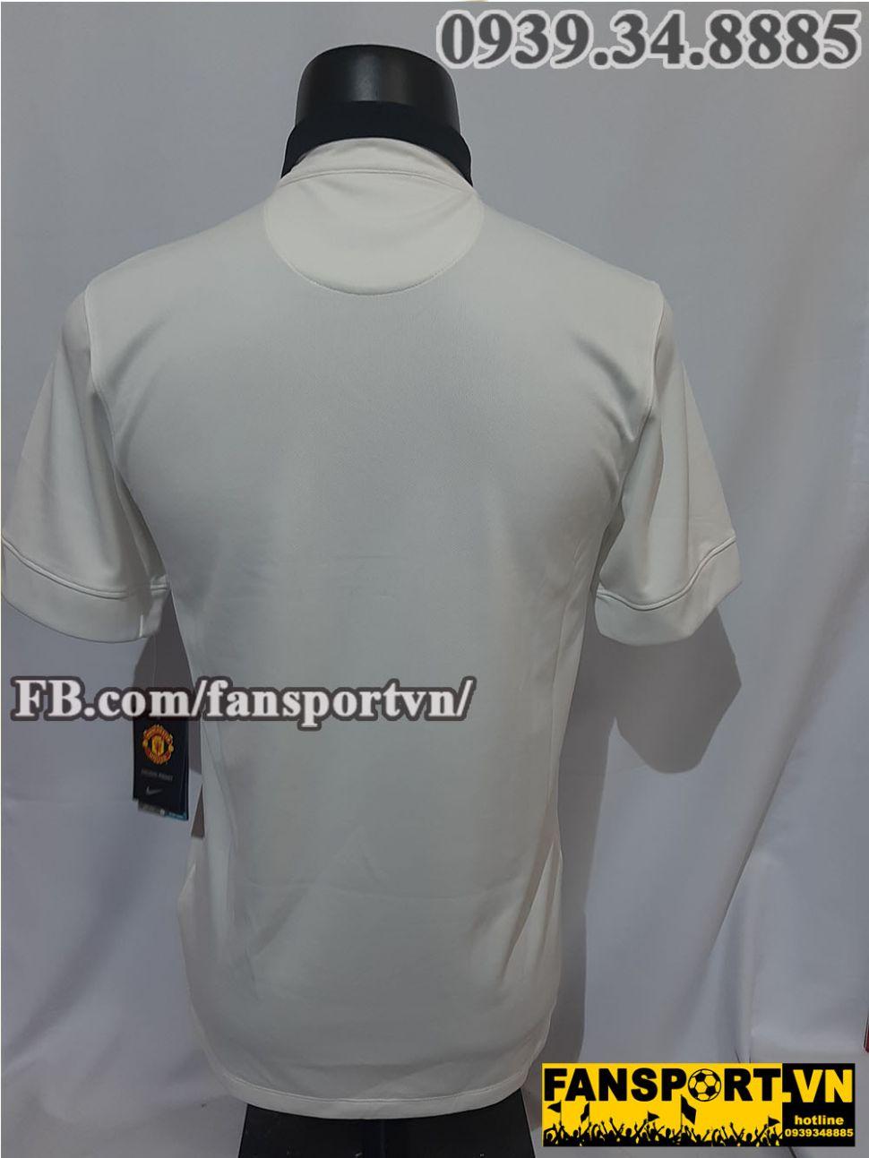 Áo đấu Manchester United 2014-2015 away shirt jersey white