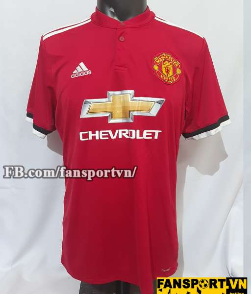 Áo đấu Manchester United 2017-2018 home shirt jersey red