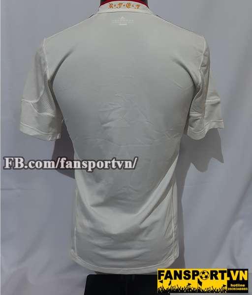 Áo đấu Spain 2011-2012 away shirt jersey white