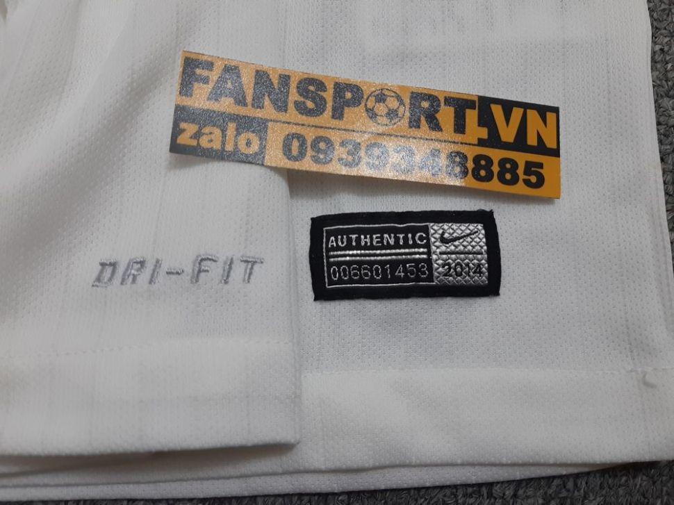 Áo đấu England 2014-2016 home shirt jersey white