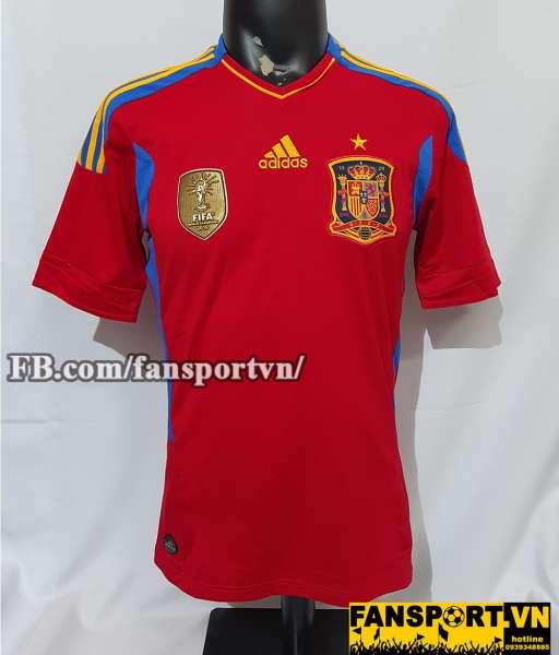 Áo đấu Spain 2011-2012 home shirt jersey red