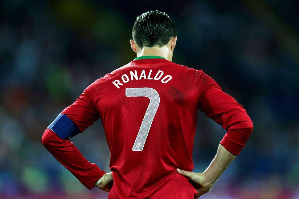 Áo Portugal 2012-2013-2014 home shirt jersey red T-shirt