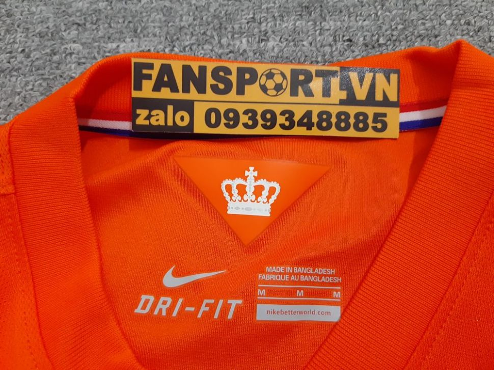 Áo đấu Netherland 2014-2015-2016 home shirt jersey orange Holland