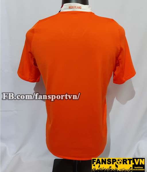 Áo đấu Netherland 2008-2009-2010 home shirt jersey orange Holland Euro