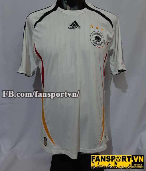 Áo đấu Germany 2005-2006 home shirt jersey white