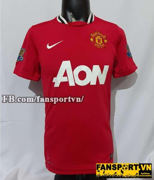 Áo đấu Giggs #11 Manchester United 2011-2012 home shirt jersey red