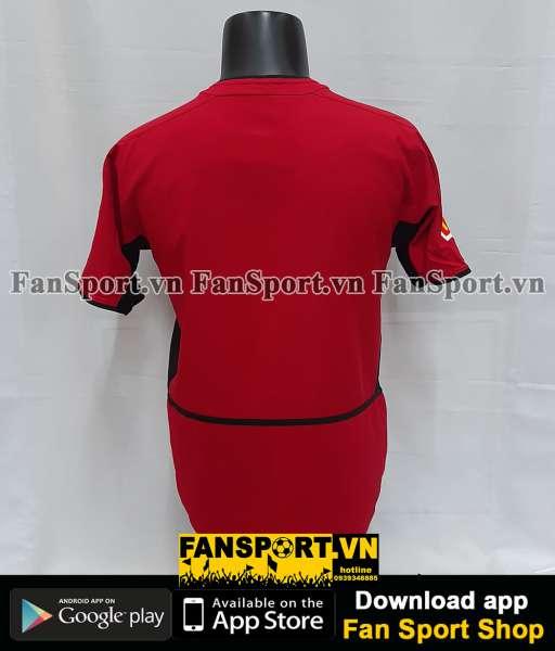 Áo Manchester United Community Shield 2003 home shirt 2002 2004 red