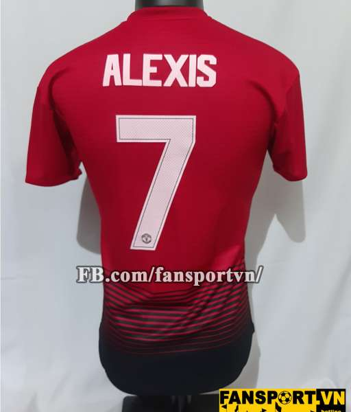 Áo đấu Alexis Sanchez #7 Manchester United 2018-2019 home shirt red