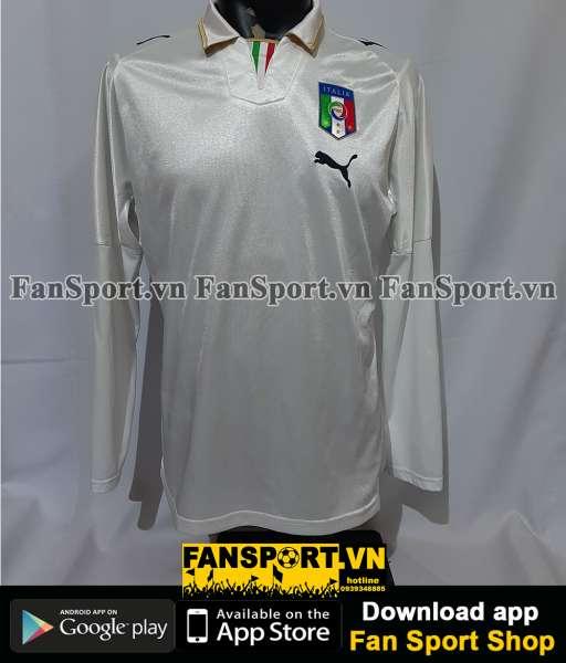 Áo đấu Italy 2008-2009-2010 away shirt jersey white