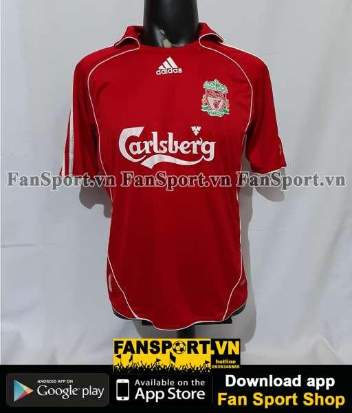Áo đấu Liverpool 2006-2007-2008 home shirt jersey red