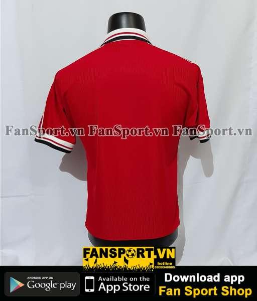 Áo đấu Manchester United 1998-1999-2000 home shirt jersey