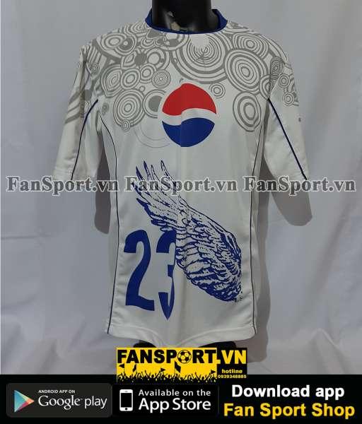 Áo đấu Beckha #23 Pepsi shirt jersey white