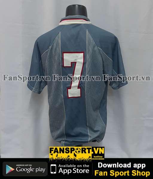 Áo đấu #7 England 1995-1996 away shirt jersey grey