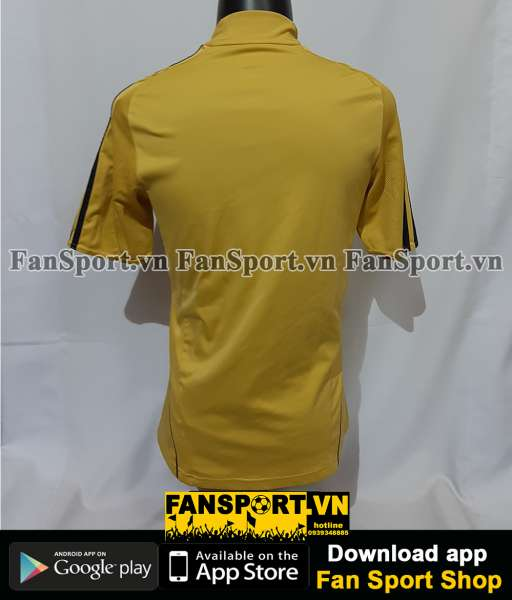 Áo đấu Spain 2008-2009-2010 away shirt jersey yellow Euro