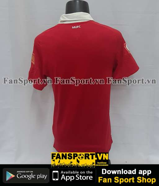 Áo đấu Manchester United Community Shield 2010 home shirt jersey red
