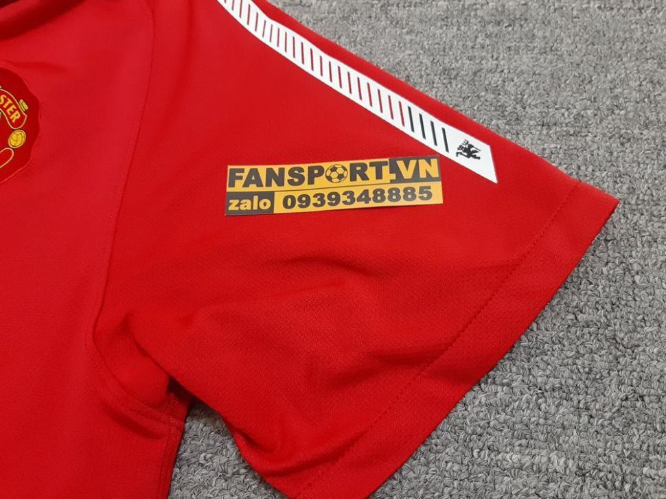 Áo đấu Manchester United Community Shield 2010 home shirt jersey red