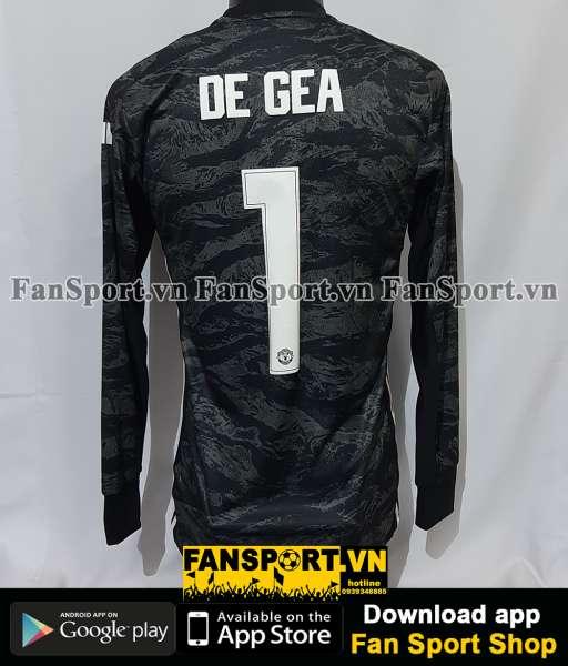 Áo thủ môn De Gea #1 Mancheater United 2019-2020 away shirt goalkeeper