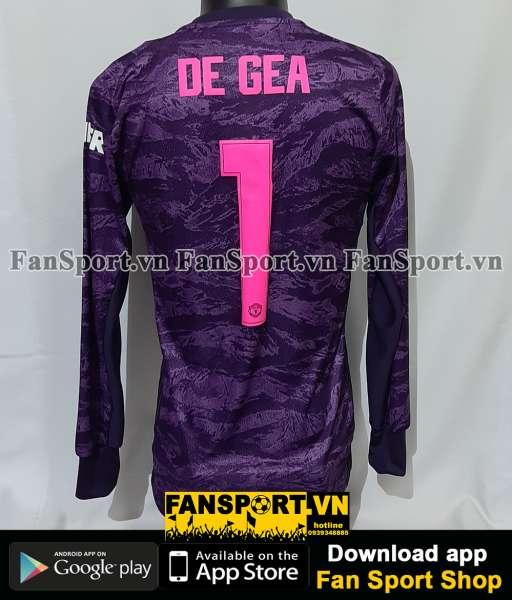Áo thủ môn Mancheater United 2019-2020 home shirt gk goalkeeper purple