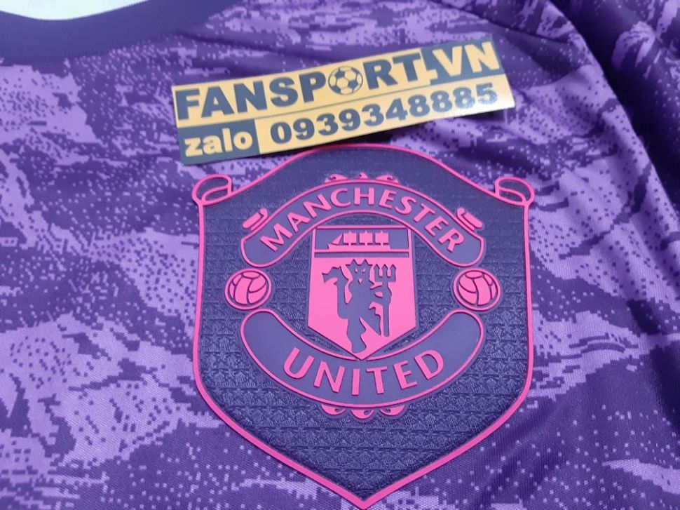 Áo thủ môn Mancheater United 2019-2020 home shirt gk goalkeeper purple