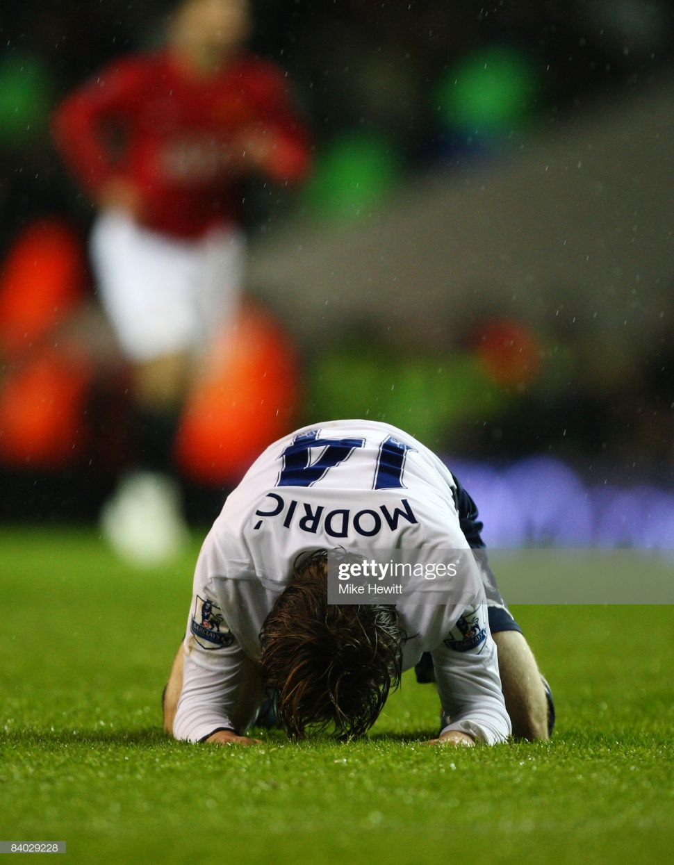 Áo đấu Modric #14 Tottenham 2008-2009 home shirt jersey white
