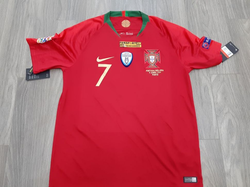 Áo đấu Ronaldo #7 Portugal 2018-2019 home Nation League jersey shirt