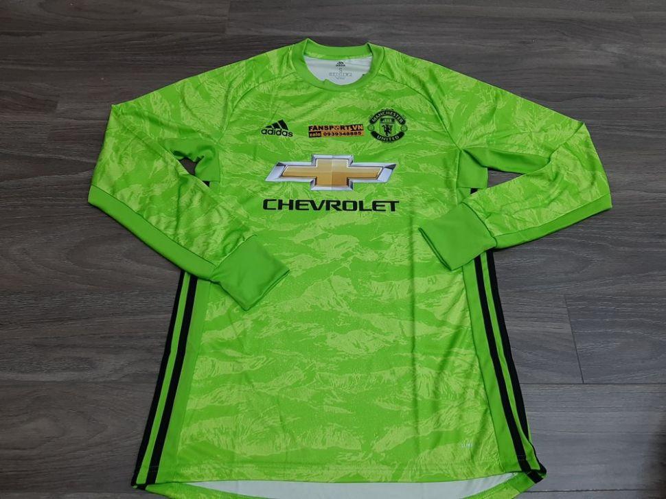 Áo De Gea #1 Mancheater United 2019-2020 third shirt goalkeeper green
