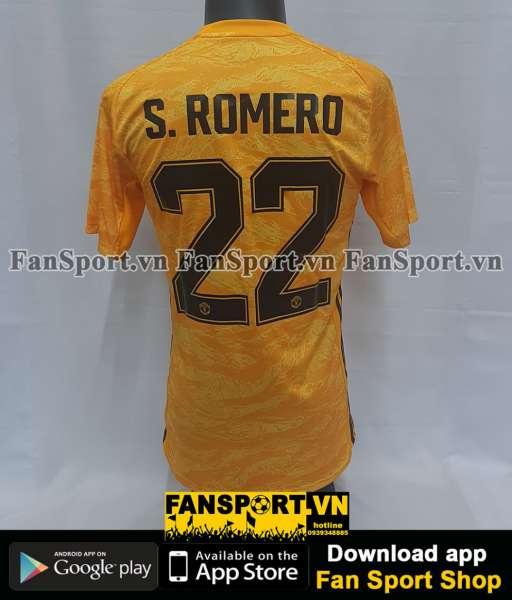 Áo Romero #22 Mancheater United 2019-2020 four shirt goalkeeper gk