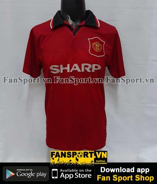 Áo đấu Beckham #7 Manchester United 1994-1995-1996 home shirt jersey