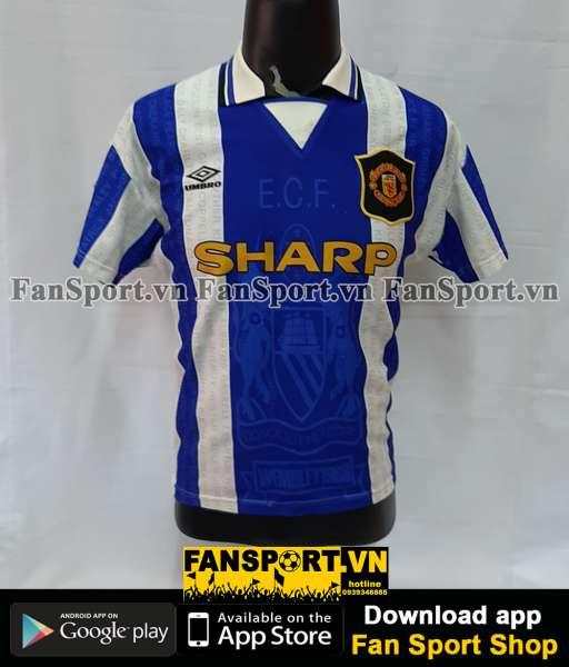 Áo đấu Beckham #28 Manchester United 1994-1995-1996-1997 third shirt