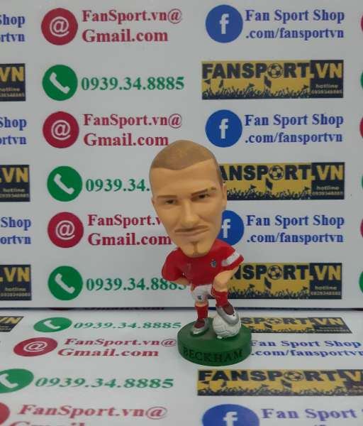 Tượng David Beckham England 2006-2008 away corinthian red PR121