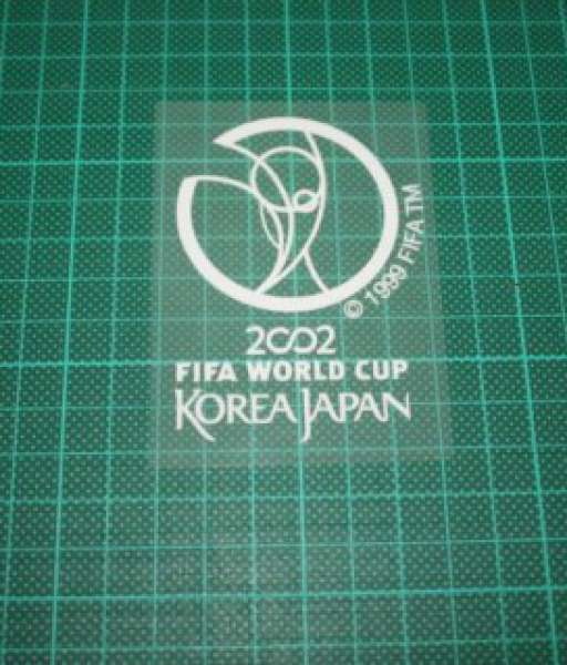 Patch FIFA World Cup 2002 South Korea Japan white badge