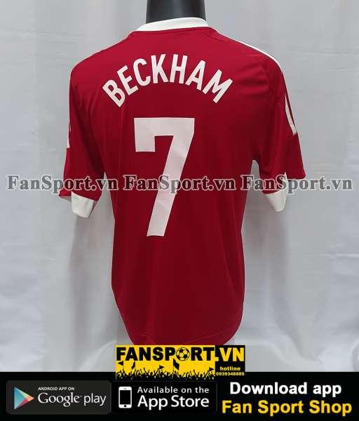 Áo đấu Beckham #7 Match for Children 2015 Unicef red shirt