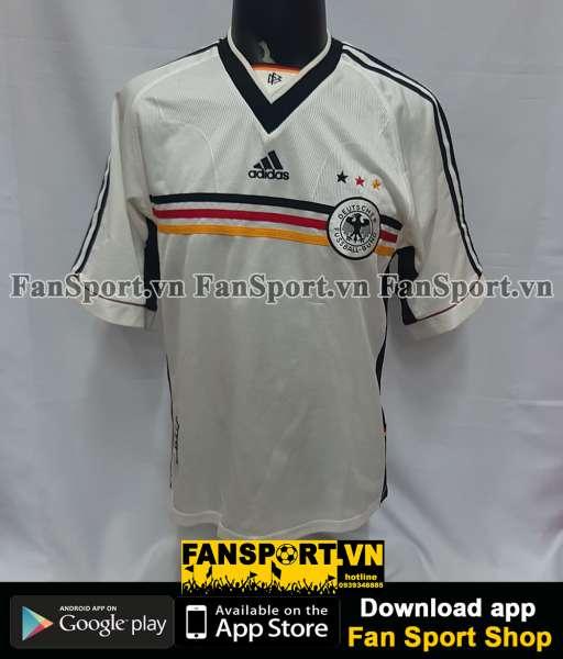 Áo đấu Germany 1998-1999-2000 home shirt jersey white Euro