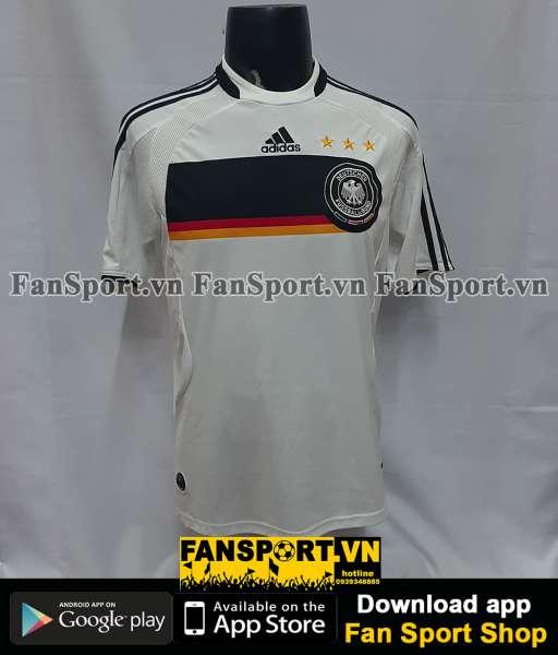 Áo đấu Germany 2008-2009 home shirt jersey white Euro