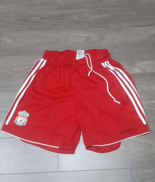 Quần cầu thủ Liverpool 2006-2007-2008 home red shorts