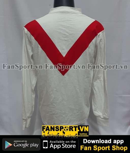 Áo đấu Manchester United 1908-1909 home white shirt jersey