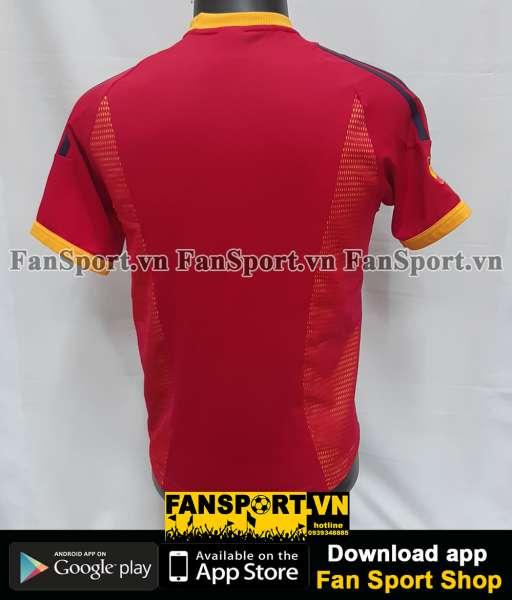 Áo đấu Spain 2002-2003-2004 home shirt jersey red