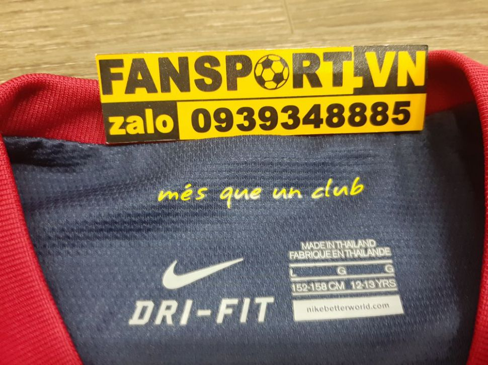 Áo đấu Barcelona 2012-2013 home shirt jersey red blue