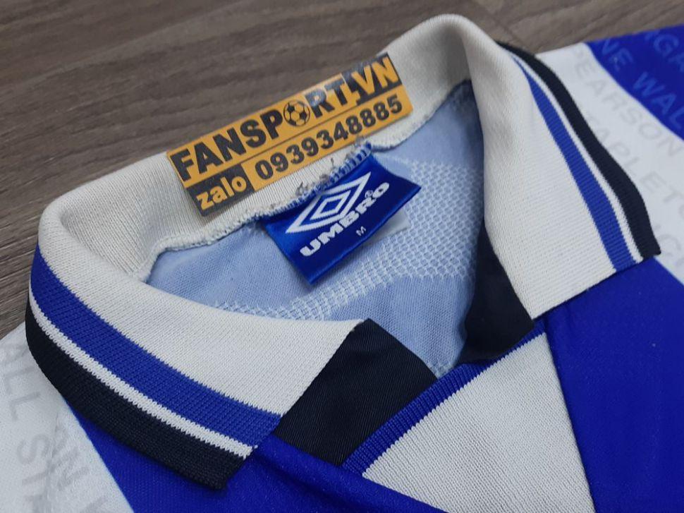 Áo đấu Manchester United 1994-1995-1996-1997 third shirt jersey blue