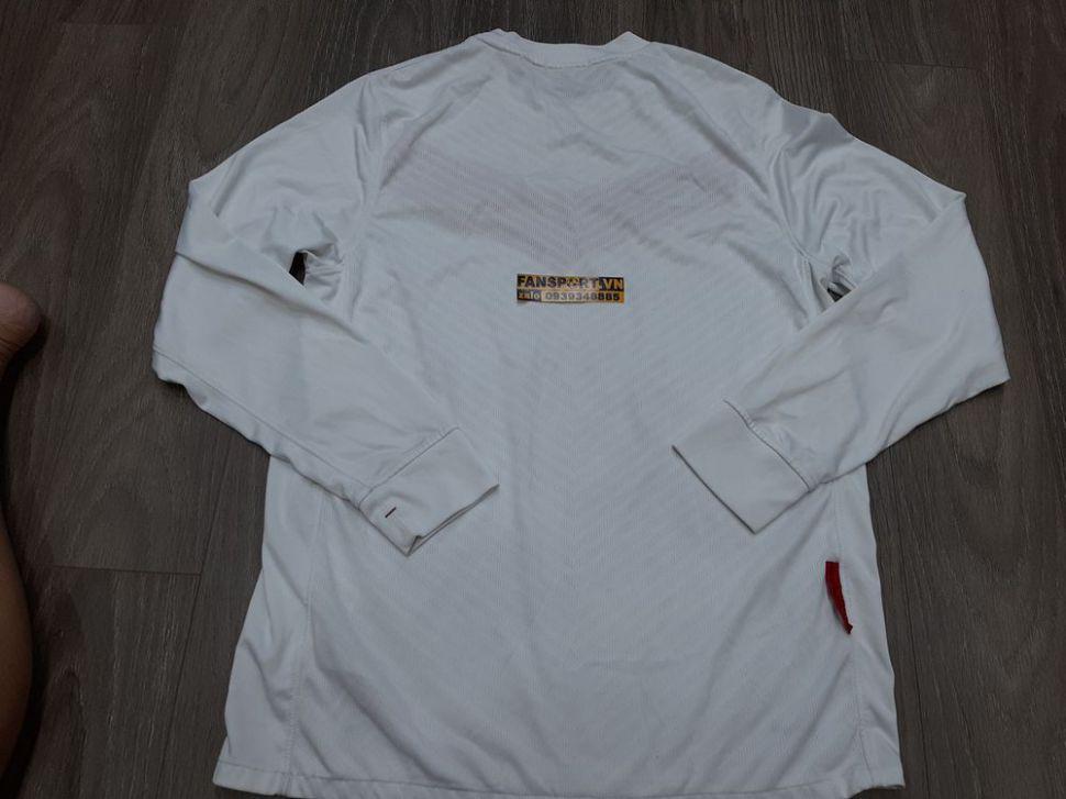 Áo GK Manchester United 2009-2010 home goalkeeper shirt jersey white