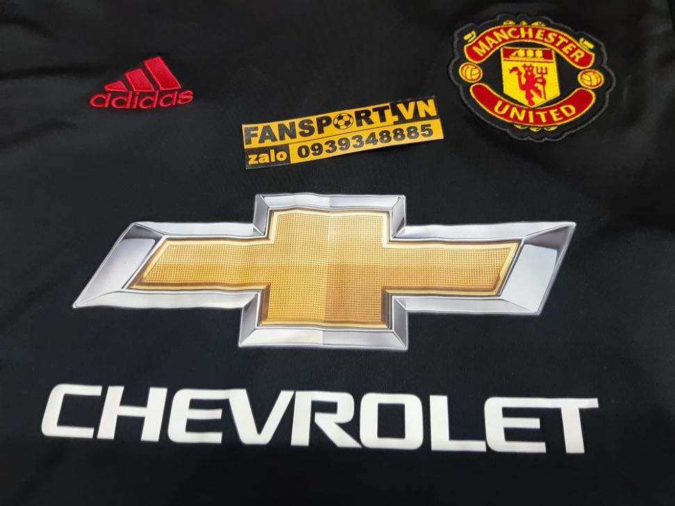 Áo thủ môn Manchester United 2016-2017 home goalkeeper shirt black GK